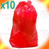 Bolsas Residuo Patológicos 60x100 Rojas Consorcio X10 Unidad