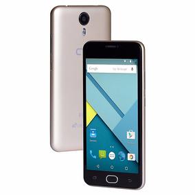 Smartphone Qbex Flix 8gb 3/4g Dual Chip Desbloqueado Dourado