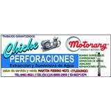 Motor Y Compresor 3/4hp Chiche Perforaciones