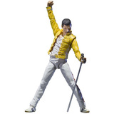 Figura Freddie Mercury Queen Singing Artist Bandai