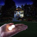 Mini Esferas Led Sumergibles Decorativas 36hs Iluminacion