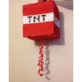Piñata Minecraft Mine Craft Infantiles Personalizadas