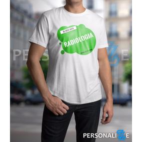Camiseta Masculina Curso De Radiologia Verde