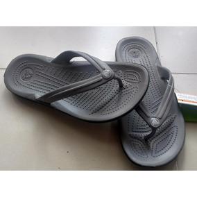 Sandalias Chanclas Crocs Crocband Flip 100 Autenticas
