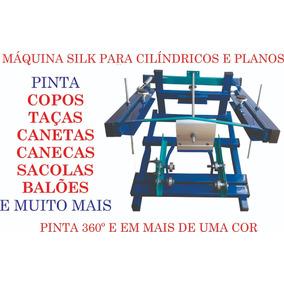 Máquina Silk Para Serigrafia. Copos, Taça, Canetas, Camisa,