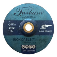 Disco De Desbaste Para Acero Inoxidable 7 Turbasa