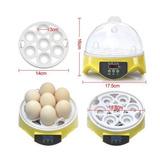 Control Automático De Las Aves De Corral Incubadora 7 Huevos