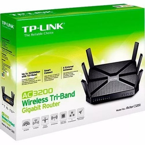 Roteador Tp-link Wireless Archer C3200 3200mbps 6 Antenas