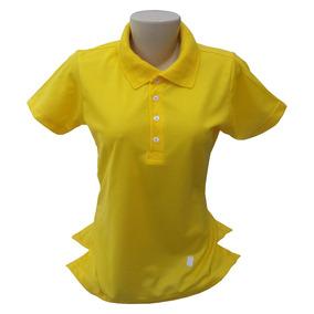 Camisa 100 Poliester Atacado Feminina - Camisas Amarelo no Mercado ... 701ba125c6