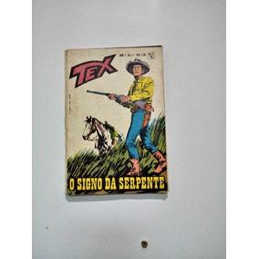 Revista Tex O Signo Da Serpente N1 Original