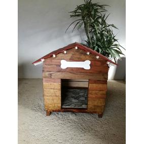 Casa De Madera Para Perro, De Buena Calidad (cedro Y Encino)