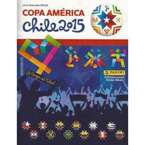 Álbum Copa América Chile 2015 Capa Dura Completo