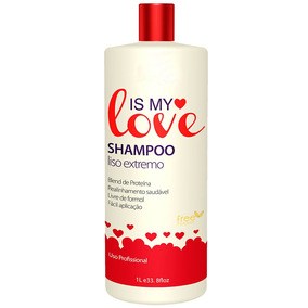 Shampoo Alisante Reconstrutor Liso Extremo Is My Love 1000ml