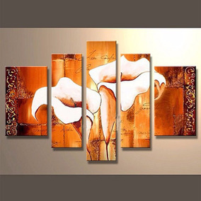 Cuadro Decorativos Al Oleo, Tulipanes, Pinturas Al Oleo