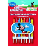 Mickey Mouse Set De Tope Y Velas