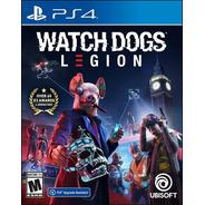 Watch Dogs Legion Ps4 Físico Sellado Original Jmc
