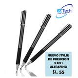 Nuevo Stylus Pen (alta Precisión) 2 En 1 Para Touch Screen