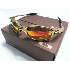 Oculos Juliet Romeu 2 Dourado - Óculos De Sol Oakley no Mercado ... 226cc89916