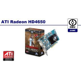 Tarjeta De Video Ati Radeon Hd4650 1gb