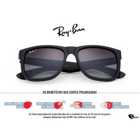 42ebead2bc3c3 Óculos De Sol Masculino Ray Ban Justin Rb4165 - Polarizado. 43. 84 vendidos  - São Paulo · Ray-ban Justin Espelhado Polarizado Lancamento Original