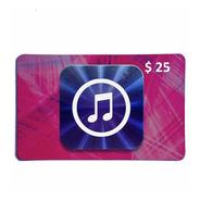 Código Tarjeta Itunes Gift Card Usa 25 Para iPhone iPad iPod