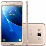 Samsung J510 Galaxy J5 Metal Dourado 16gb Original | Vitrine