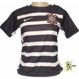 8baae6c1e5 16 Original 658756 Camisa Nike Corinthians Ii Torcedor 2015 no ...