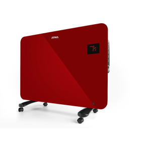 Convector Vitrocerámico Panel Rojo 1500w Atma Rv1516re