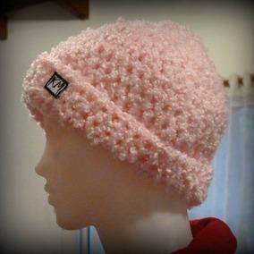 Gorro Para Dama, Tejido Al Crochet