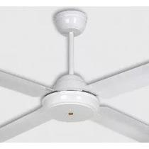 Ventilador De Techo 4p Metal Color Blanco