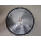 Serra Circular Plus 250mm 100 Dentes 40° Cruzada Para Mdf