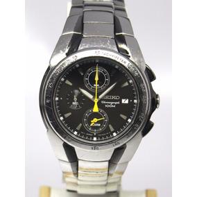 Reloj Seiko Cronografo Deportivo Mov 7t62 Acero Inoxidable