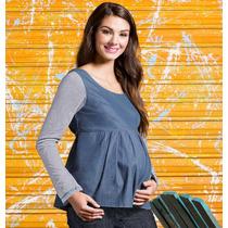 _ Oferta Blusa Maternidad Andrea Se Adapta Mes A Mes 1085426