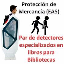 Detectores Especializados En Libros Contra Robo Bibliotecas
