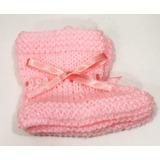 Sapato Sapatinho Trico De Lã Para Bebe Criança Feito A Mão