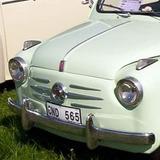 Antigua Insignia Fiat 600 /1955 Original