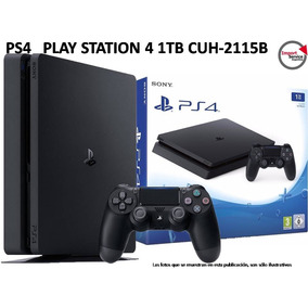 Ps4 Play Station 4 1tb Cuh-2115b + Joystick