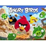 Painel Decorativo Festa Angry Birds [2x1,5m] (mod1)