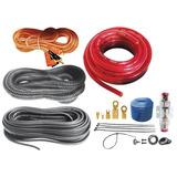 Kit De Instalación Profesional Para Audio 10 Awg Mitzu