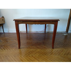 Mesa de madera antigua comedor en mercado libre argentina - Mesa comedor antigua ...