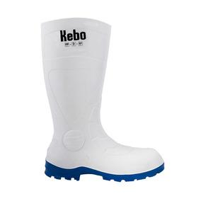 25 - Blanco - Bota Larga Industrial Kebo 0020 - 181168