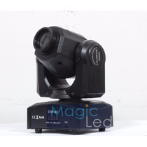 Kit 4 Mini Spot Led Moving Head 30w 7 Desenhos+cores