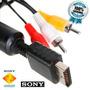 Cabo Av Audio E Video Rca Playstation 1, 2 E 3 Original Sony