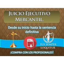Juicio Ejecutivo Mercantil Desde Inicio Hasta La Sentencia