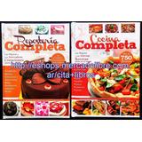 Oferta: Libros Cocina Completa + Reposteria Completa Clasa