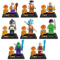 Kit Dragon Ball Z - Goku - Esferas Do Dragão + 8 Bonecos