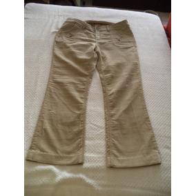 Pantalon D Pana Jeans Union Bay Dama 10 Strech Camel Kaki