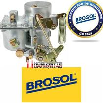 Carburador Fusca Puma Buggy Tl 1300 Novo Solex Brosol
