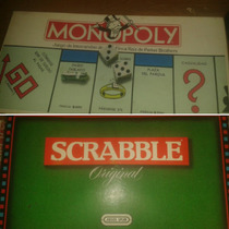 Juegos De Mesa: Monopoly Y Scrabble