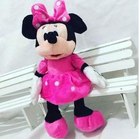 Uma Pelucia Da Minnie Ou Mickey Mouse 50 Cm Antialergico